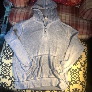 Colorfast pullover hoodie